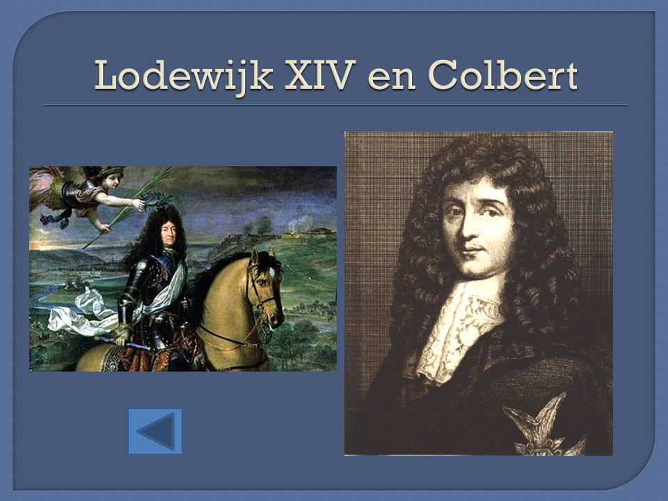 Lodewijk XIV en Colbert