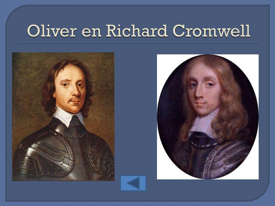 Oliver en Richard Cromwell