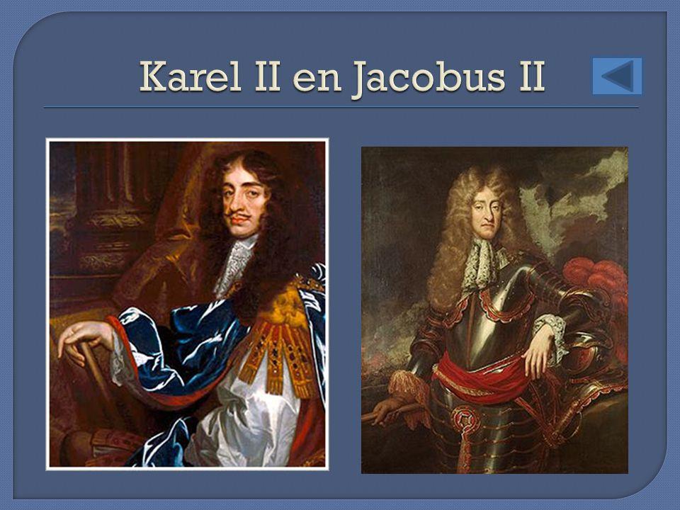 Karel II en Jacobus II