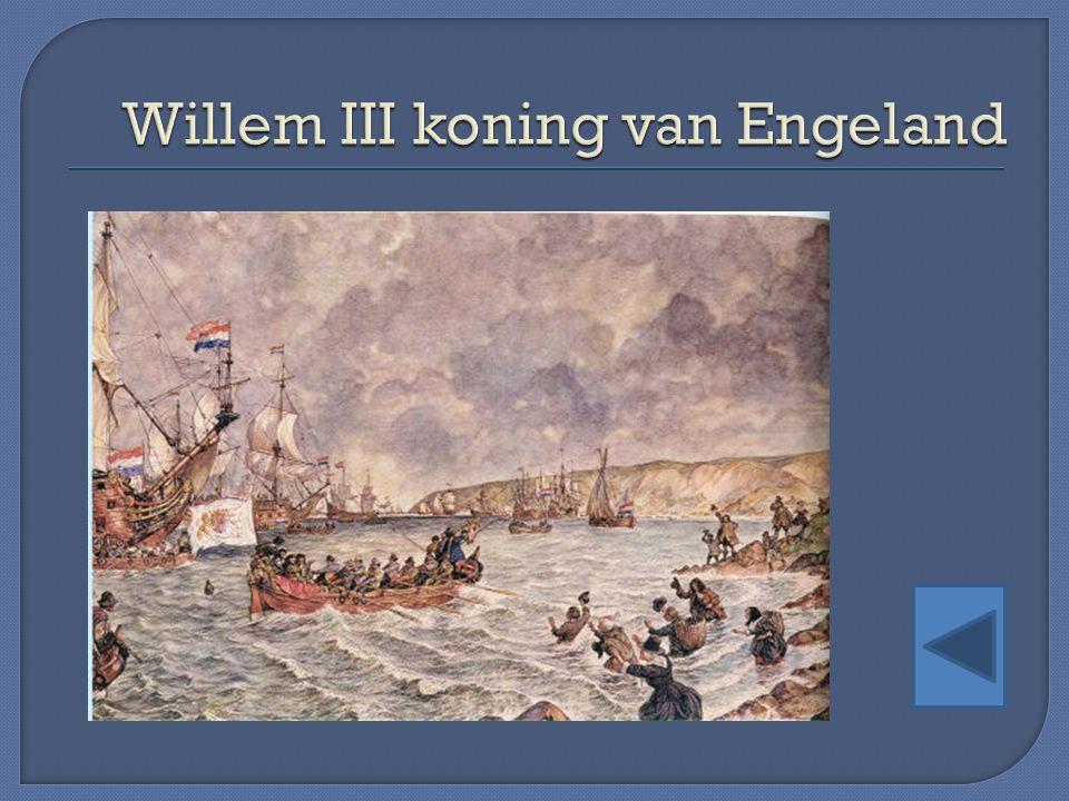 Willem III koning van Engeland