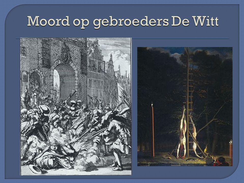 Moord op gebroeders De Witt