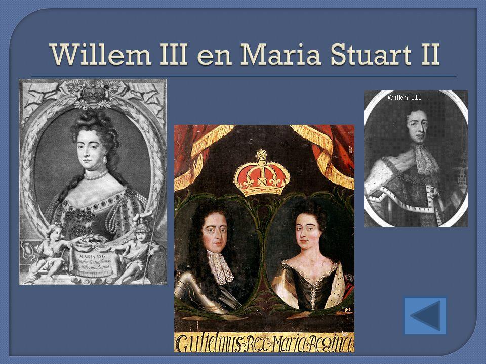 Willem III en Maria Stuart II