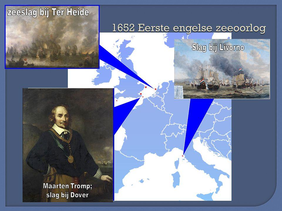 1652 Eerste engelse zeeoorlog