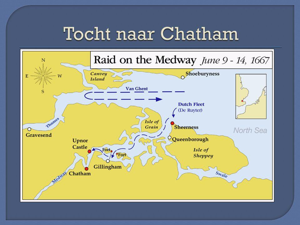 Tocht naar Chatham