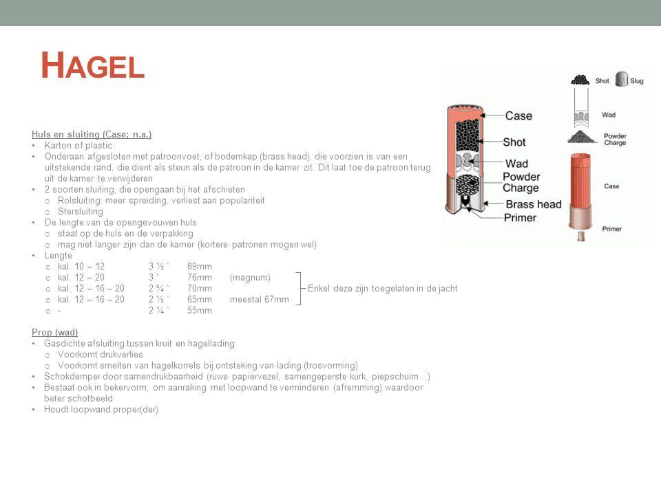 Hagel Huls en sluiting (Case; n.a.) Karton of plastic