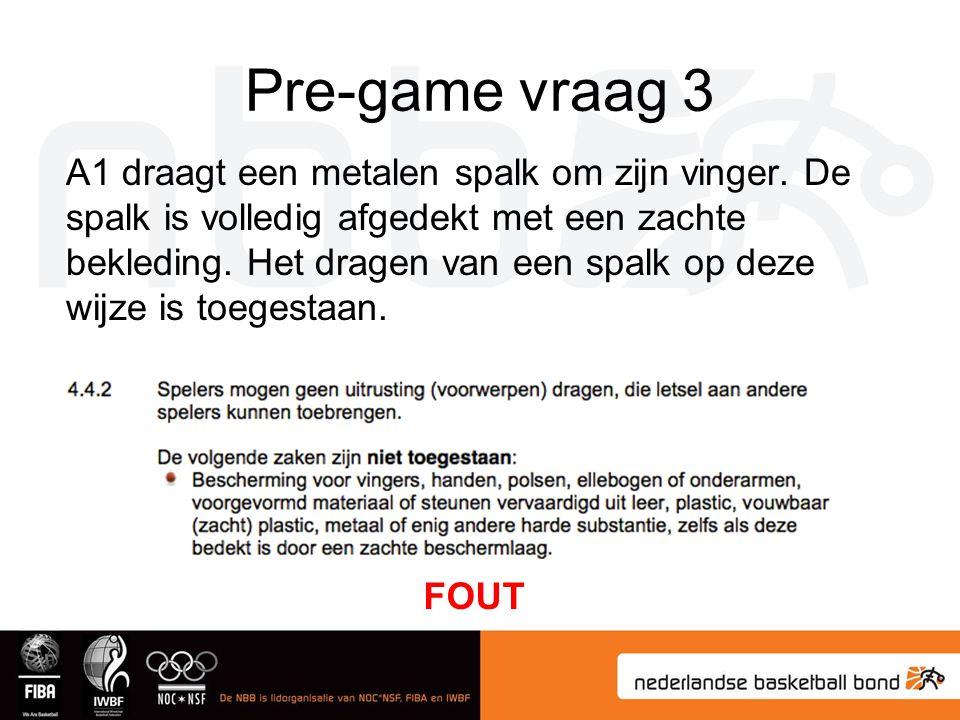 Pre-game vraag 3