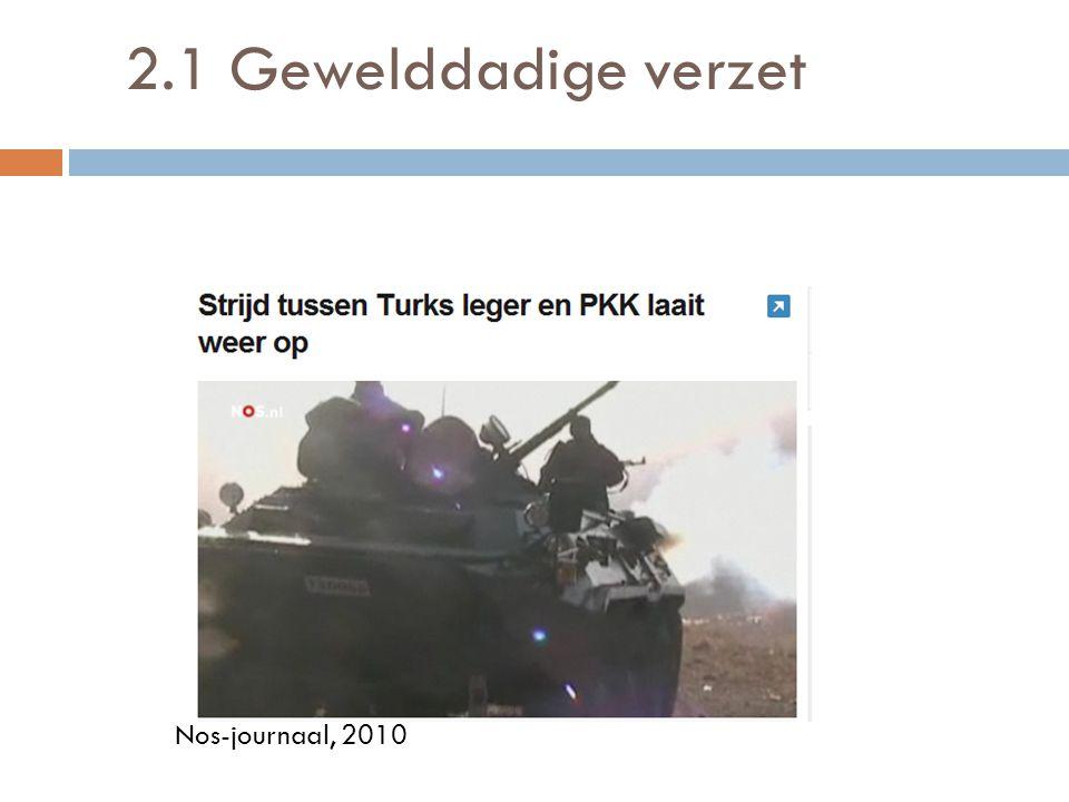 2.1 Gewelddadige verzet Nos-journaal, 2010