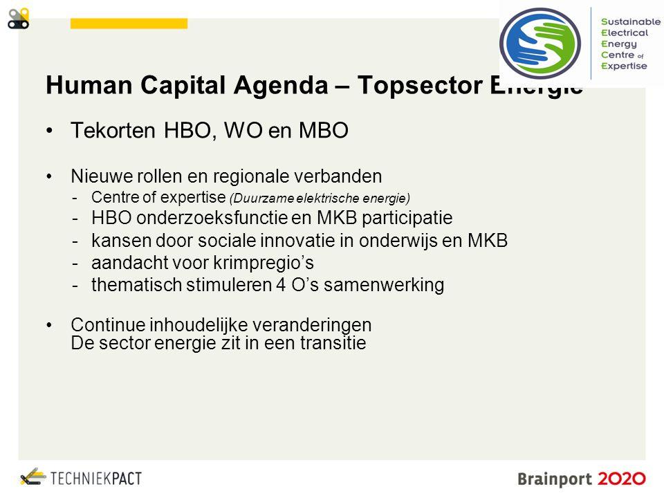 Human Capital Agenda – Topsector Energie