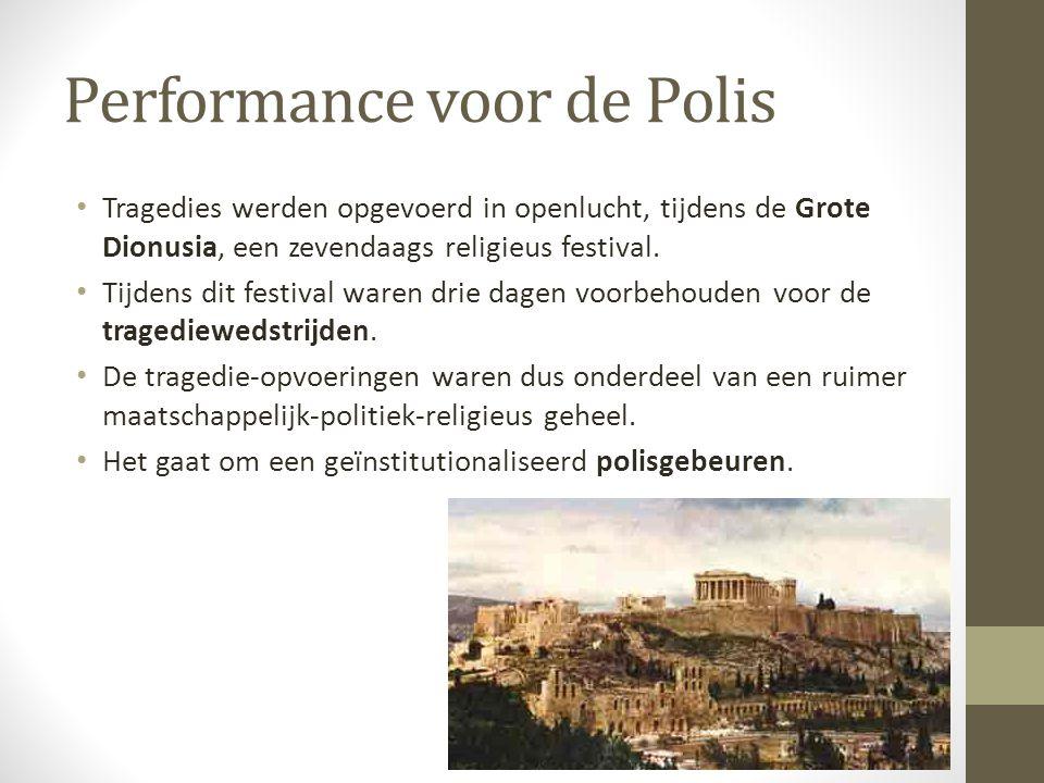 Performance voor de Polis