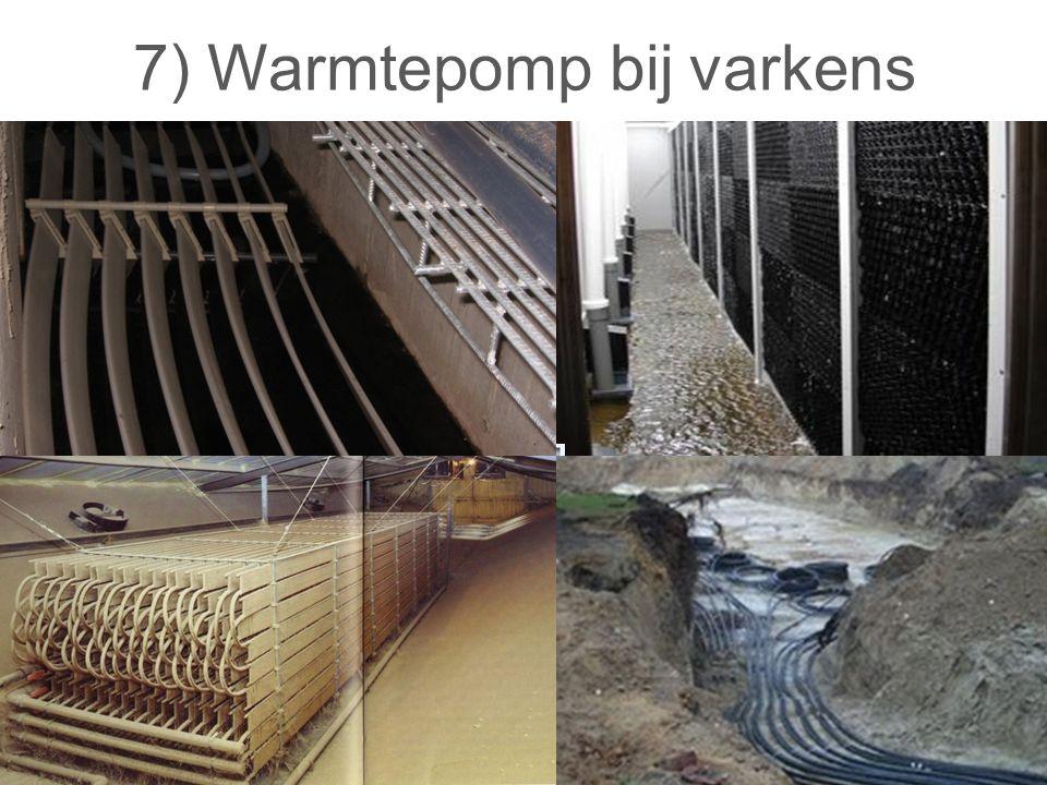 7) Warmtepomp bij varkens