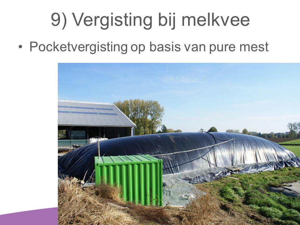 9) Vergisting bij melkvee