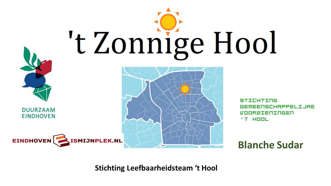 Blanche Sudar Stichting Leefbaarheidsteam 't Hool