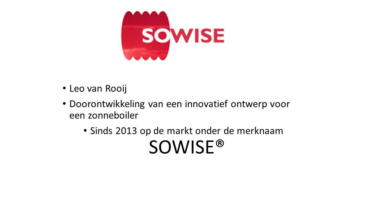 Sinds 2013 op de markt onder de merknaam SOWISE®