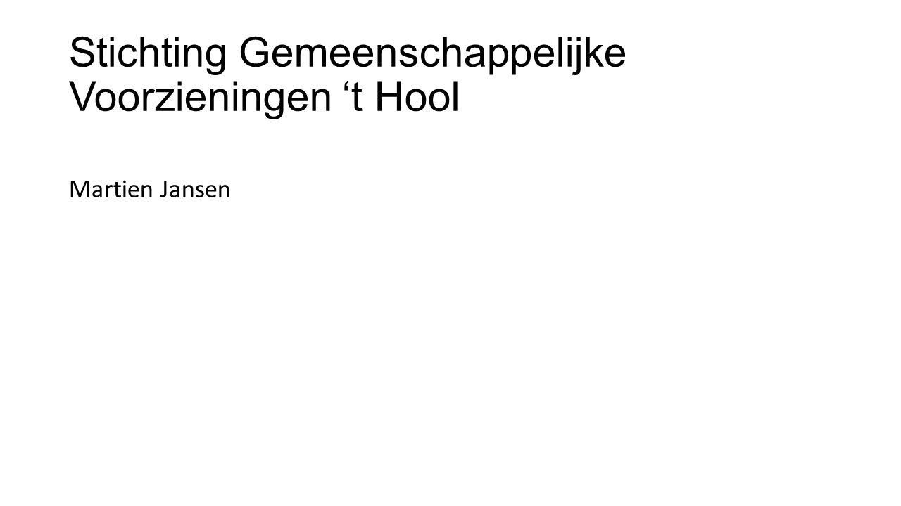 Stichting Gemeenschappelijke Voorzieningen 't Hool