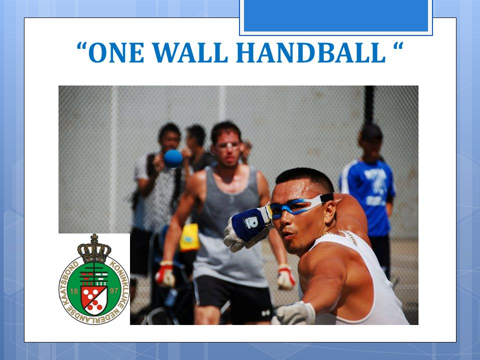 ONE WALL HANDBALL 11/04/2014