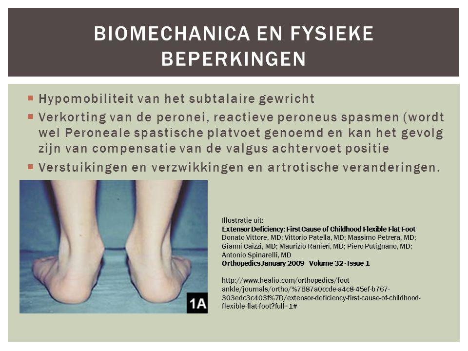 Biomechanica en fysieke beperkingen