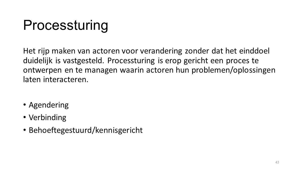 Processturing