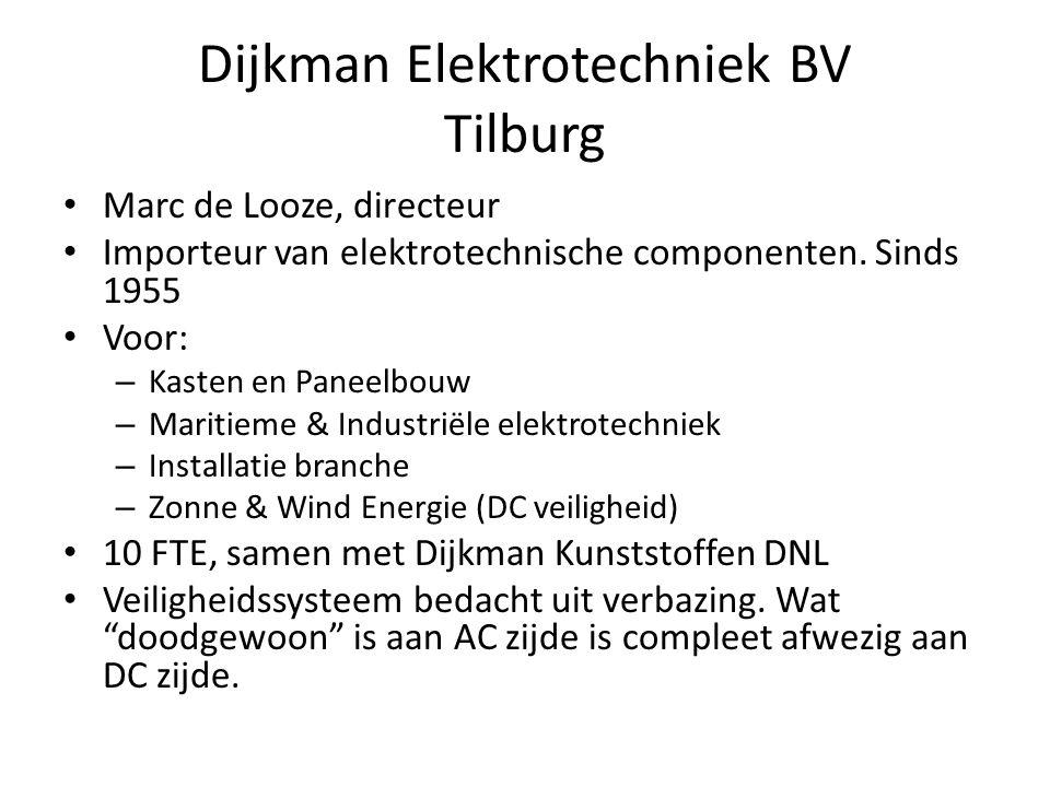 Dijkman Elektrotechniek BV Tilburg