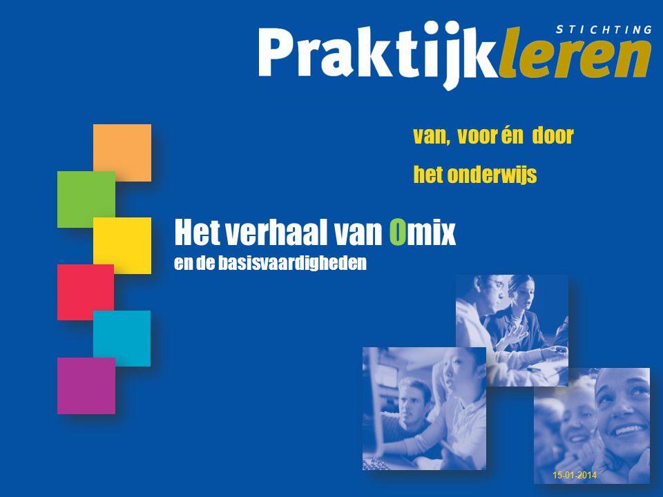 Het verhaal van Omix het onderwijs en de basisvaardigheden