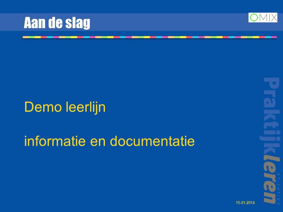 informatie en documentatie