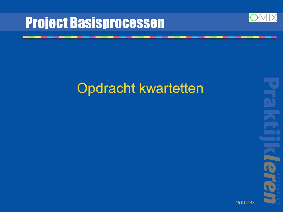 Project Basisprocessen