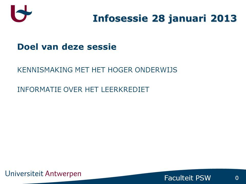 Wie ben ik Ann Aertssen. Studietrajectbegeleider van de faculteit Politieke en Sociale Wetenschappen aan de Universiteit Antwerpen.