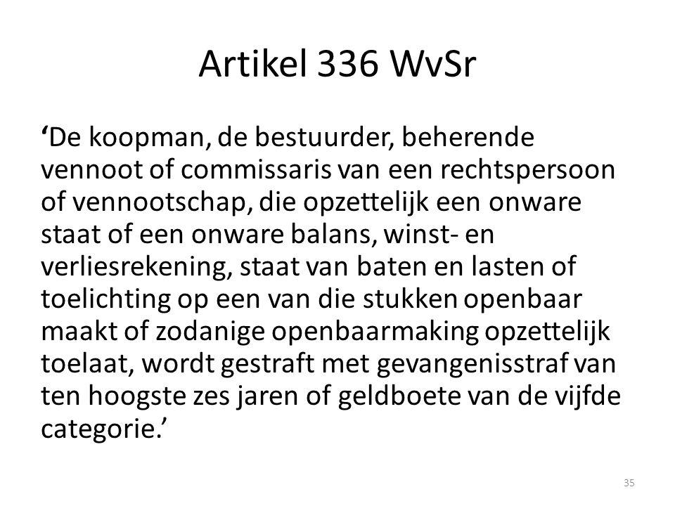 Artikel 336 WvSr