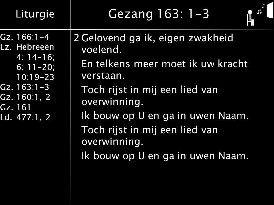 Gezang 163: 1-3