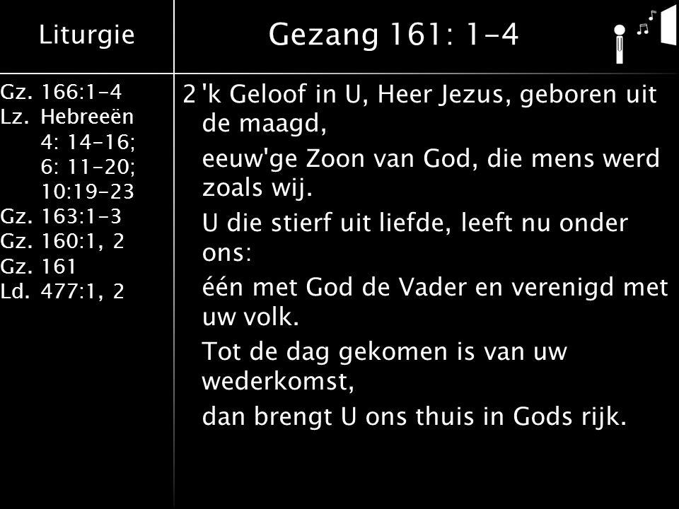 Gezang 161: 1-4