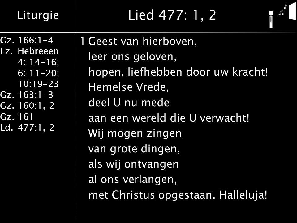 Lied 477: 1, 2