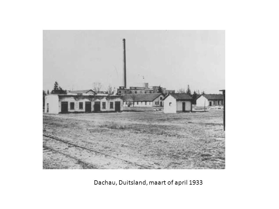Dachau, Duitsland, maart of april 1933