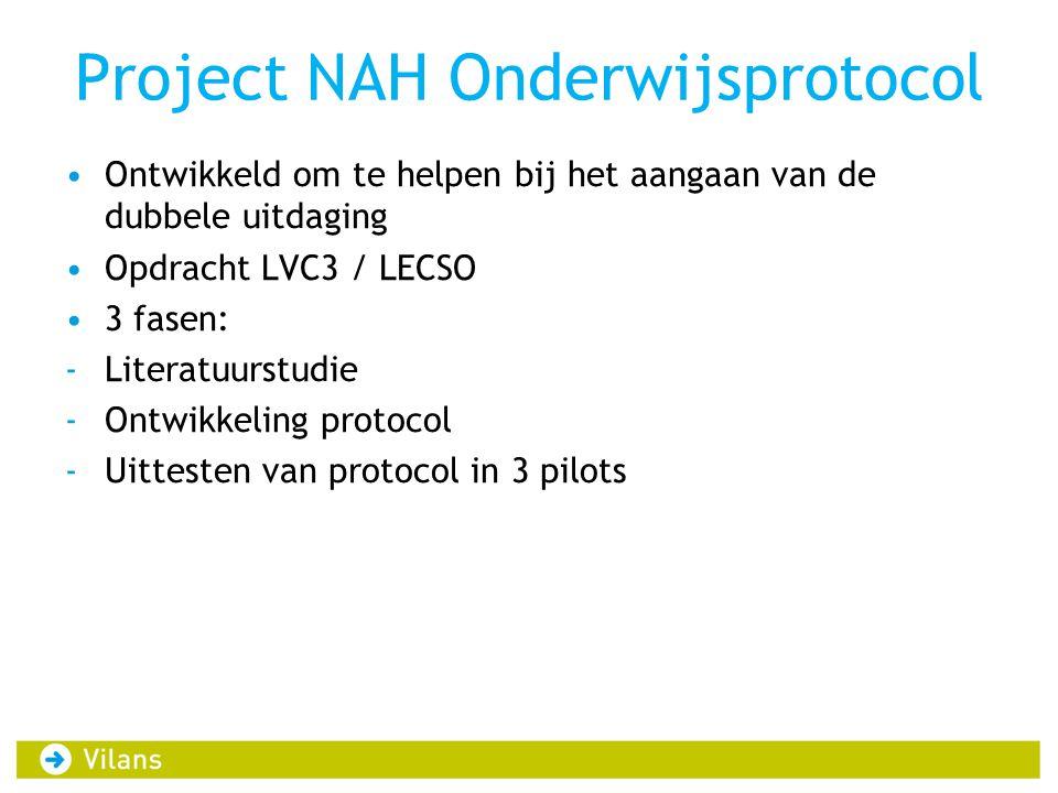 Project NAH Onderwijsprotocol