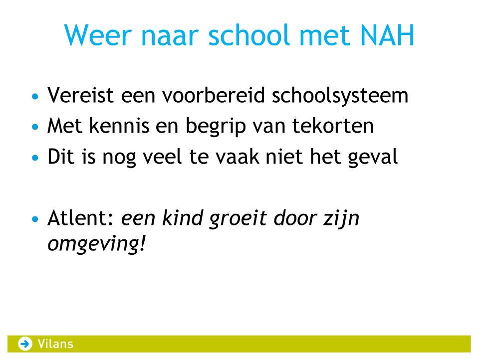 Weer naar school met NAH