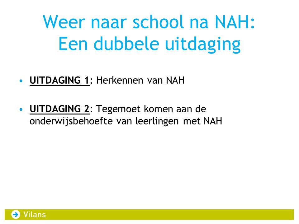 Weer naar school na NAH: Een dubbele uitdaging