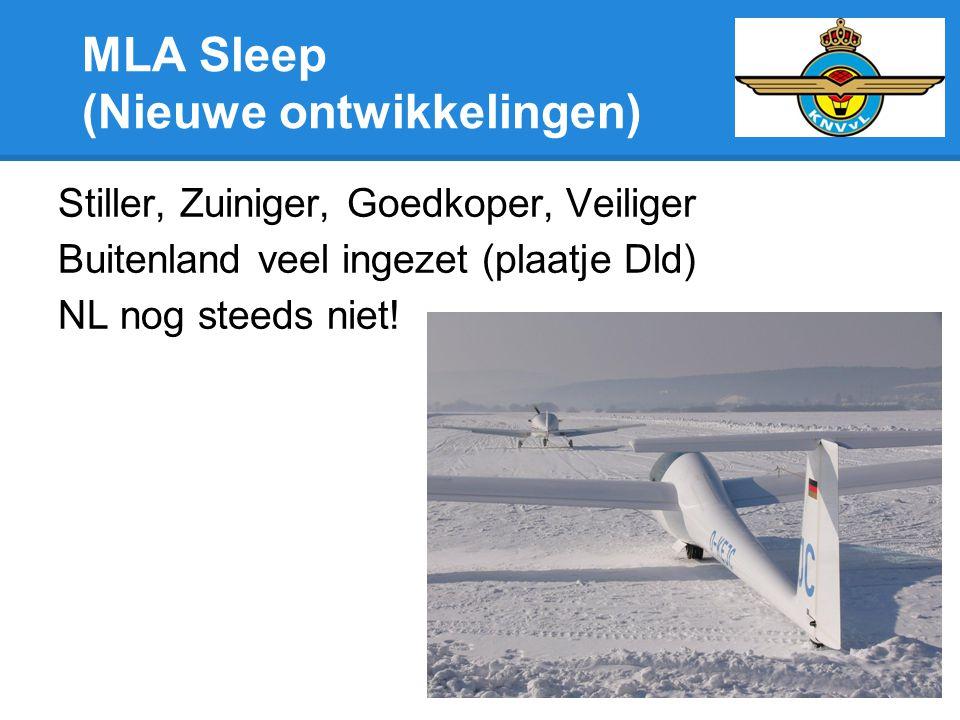 MLA Sleep (Nieuwe ontwikkelingen)