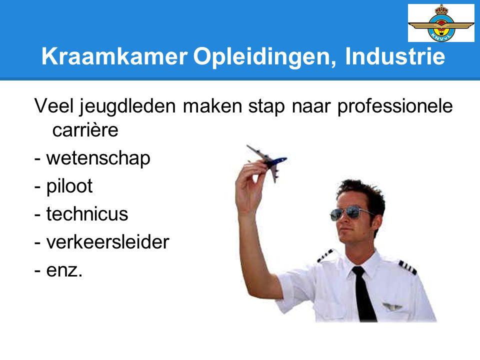 Kraamkamer Opleidingen, Industrie