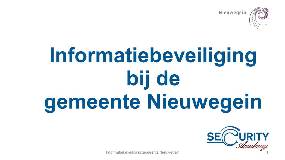 Informatiebeveiliging