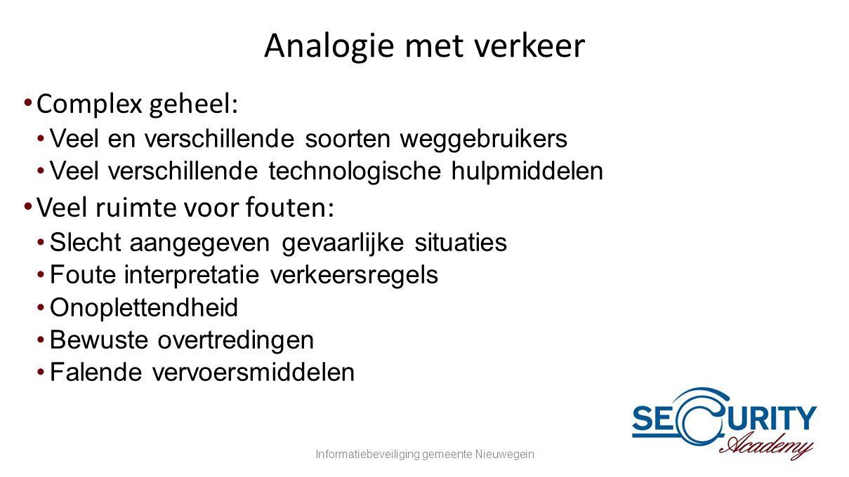 Informatiebeveiliging gemeente Nieuwegein