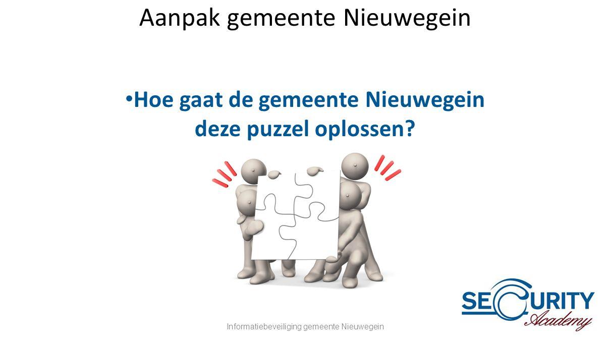 Aanpak gemeente Nieuwegein
