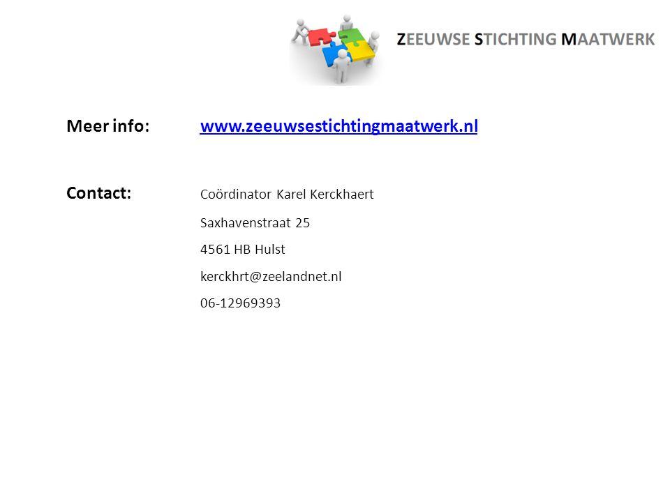Meer info: www.zeeuwsestichtingmaatwerk.nl