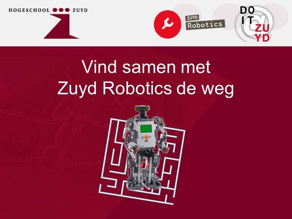 Vind samen met Zuyd Robotics de weg