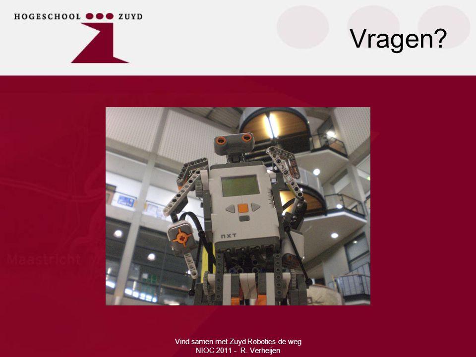 Vind samen met Zuyd Robotics de weg NIOC 2011 - R. Verheijen