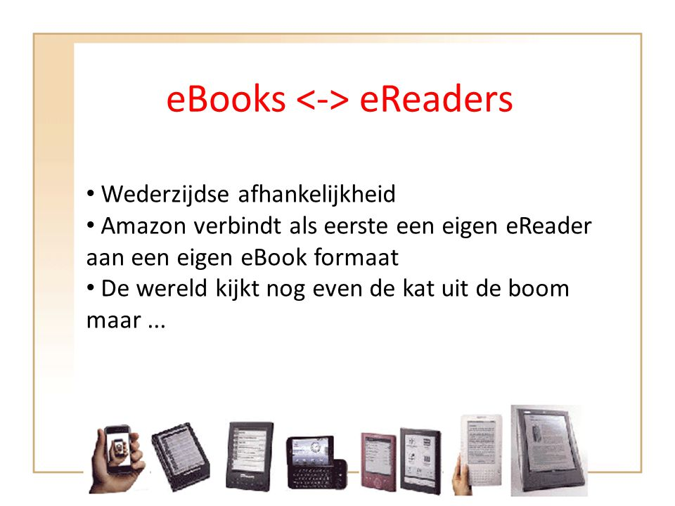 eBooks <-> eReaders