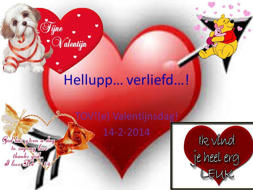 TOV!(e) Valentijnsdag! 14-2-2014