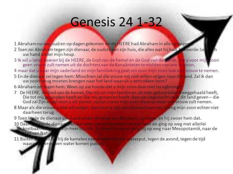 Genesis 24 1-32