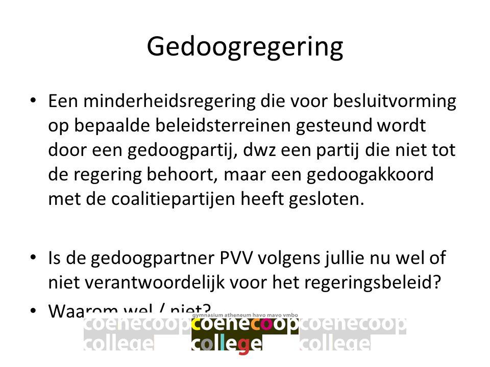 Gedoogregering