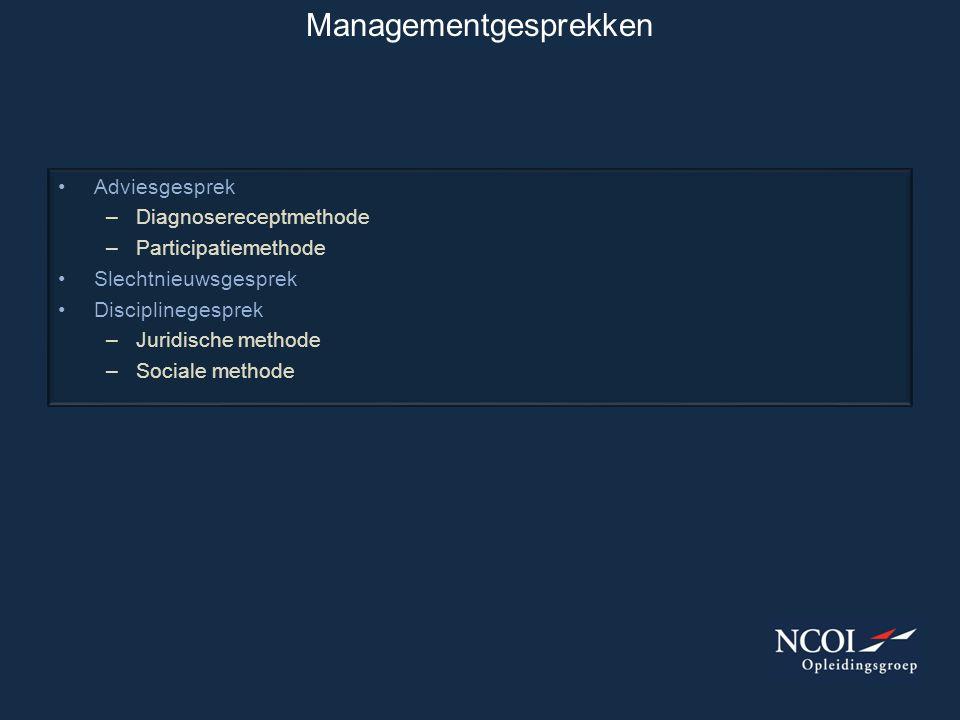 Managementgesprekken