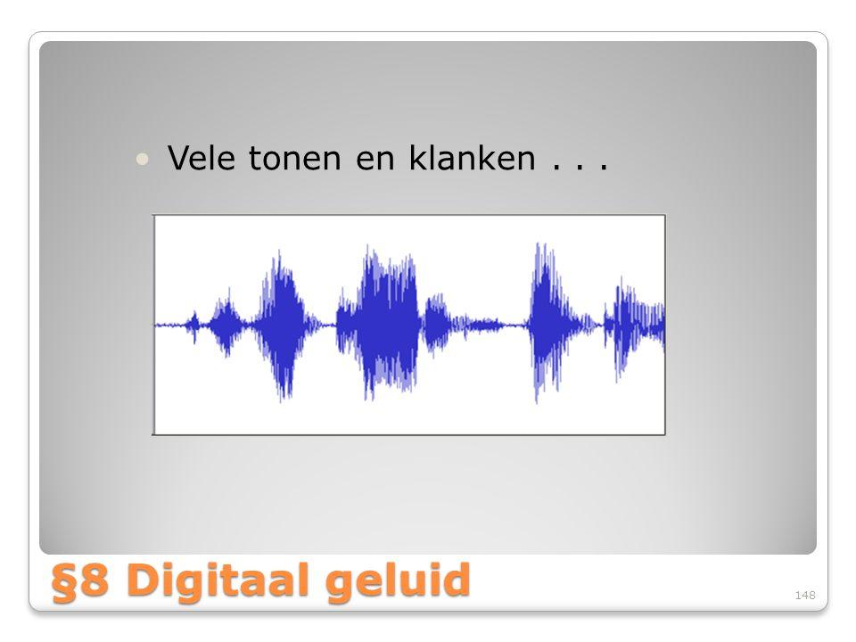 Vele tonen en klanken . . . §8 Digitaal geluid