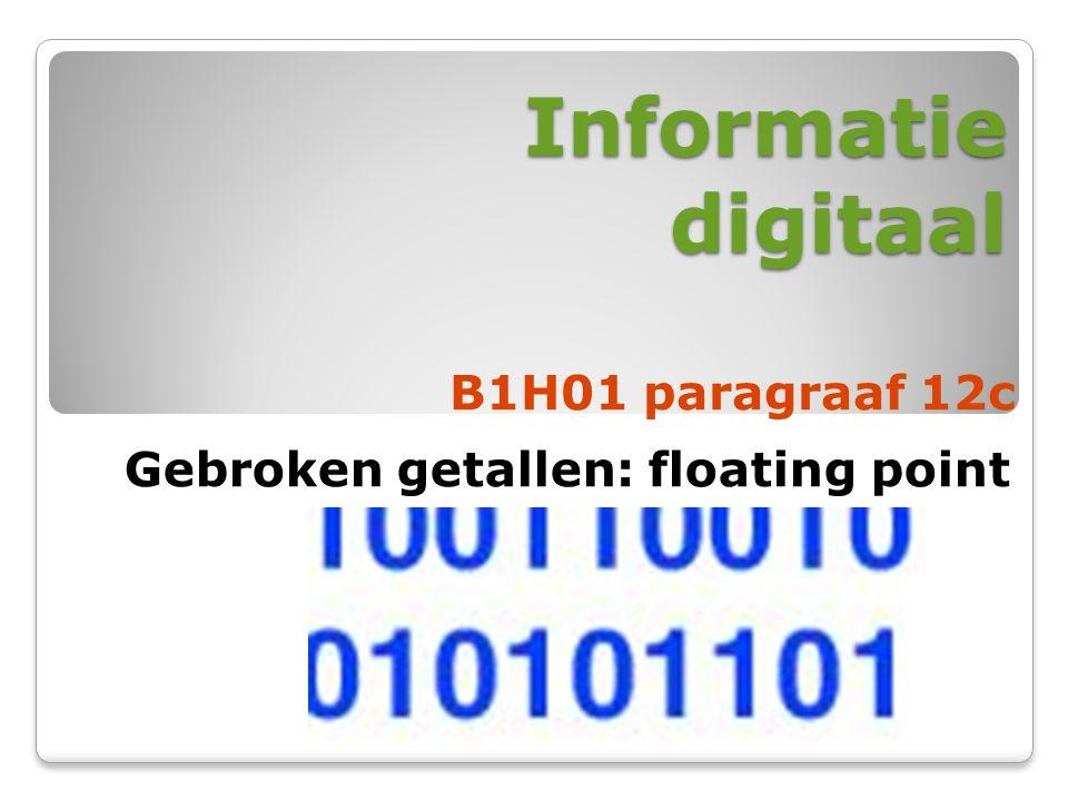 Informatie digitaal B1H01 paragraaf 12c