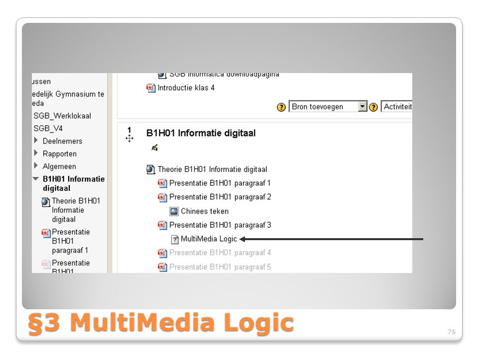 §3 MultiMedia Logic